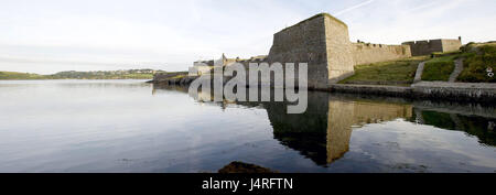 Ireland, Munster, Cork county, Kinsale, Charles Fort, - Stock Photo