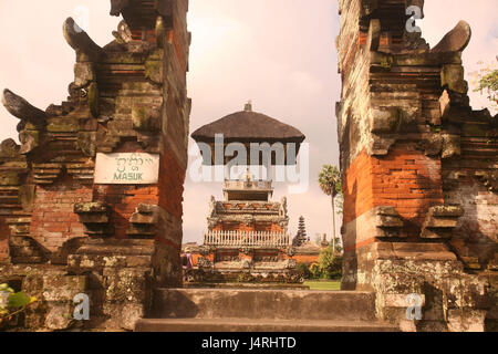 Indonesia, Bali, island, Batukau, Pura Luhur Batukau, temple, culture, architecture, temple, - Stock Photo