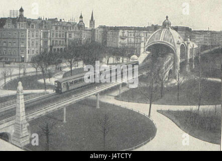 U Bahn Berlin Nollendorfplatz 1903 2 - Stock Photo