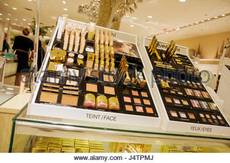 High End Cosmetics On Display At A Walgreens Flagship