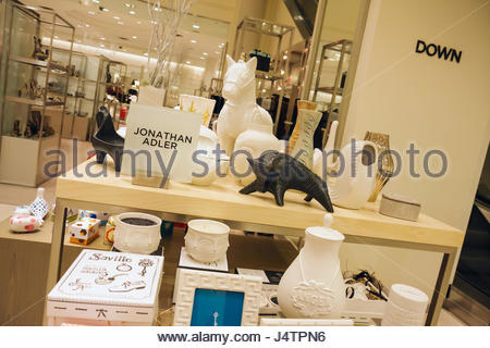 Interior Of Saks Fifth Avenue Department Store Midtown Manhattan Stock Photo Royalty Free