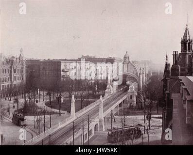 U Bahn Berlin Nollendorfplatz 1903 - Stock Photo