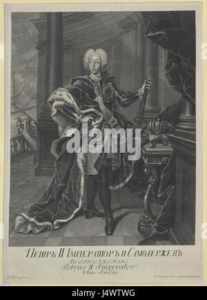 Tsar Peter II - Stock Photo