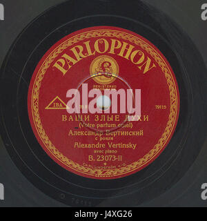 Vertinsky Parlophone B.23073 02 - Stock Photo