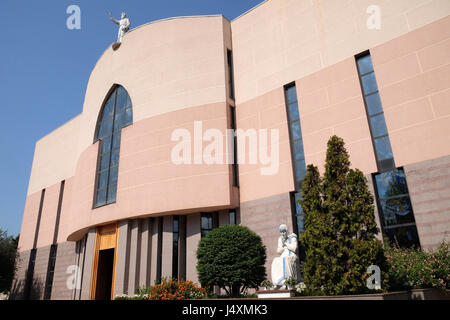 St Paul's Cathedral in Tirana, Albania on September 27, 2016. - Stock Photo