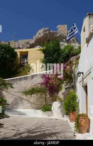 Church of Agios Georgios of the Rock at Anaftioftika - Stock Photo