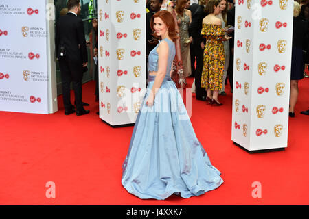 Amy Nuttall arriving for the Virgin TV British Academy Television Awards 2017 held at Festival Hall at Southbank - Stock Photo