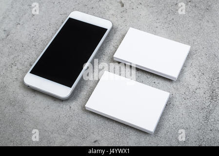 responsive and corporate design mockup - Stock Photo