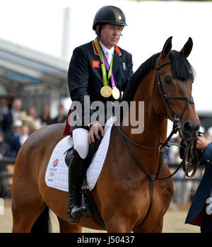 The Royal Windsor Horse Show At Home Park Private Castle UK 14th May