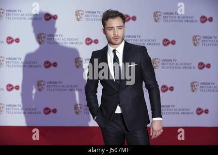 London, United Kingdom Of Great Britain And Northern Ireland. 14th May, 2017. Ed Westwick attends the Virgin TV - Stock Photo