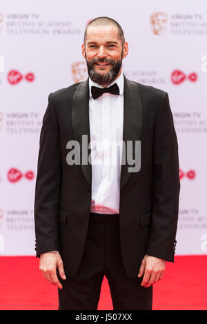 Lonodn, UK. 14 May 2017. Fred Sirieix arrives for the Virgin TV British Academy Television Awards (BAFTAs) at the - Stock Photo