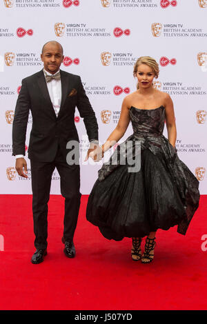 Lonodn, UK. 14 May 2017. Katie Piper arrives for the Virgin TV British Academy Television Awards (BAFTAs) at the - Stock Photo