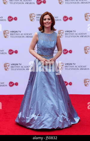 Lonodn, UK. 14 May 2017. Amy Nuttall arrives for the Virgin TV British Academy Television Awards (BAFTAs) at the - Stock Photo