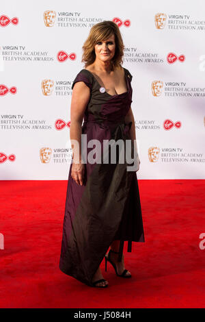 Lonodn, UK. 14 May 2017. Siobhan Finneran arrives for the Virgin TV British Academy Television Awards (BAFTAs) at - Stock Photo