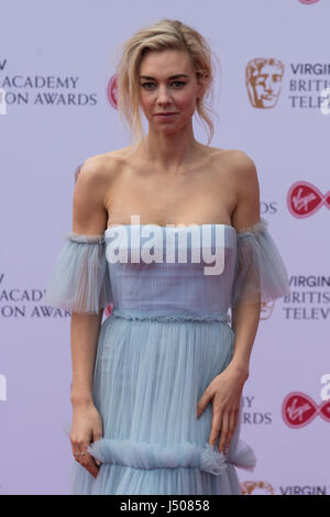 Lonodn, UK. 14 May 2017. Vanessa Kirby arrives for the Virgin TV British Academy Television Awards (BAFTAs) at the - Stock Photo