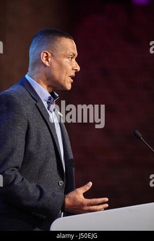 London, UK. 15th May, 2017. Progressive Alliance launch event held at the Brewery, Barbican, London,UK. 15th May - Stock Photo