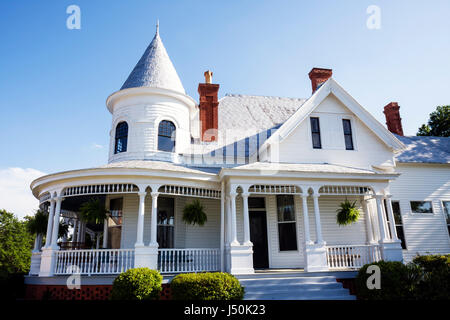 Alabama, AL, South, Bullock County, Union Springs, Powell Street, Methodist Parsonage, Eley house, houses, 1905, - Stock Photo