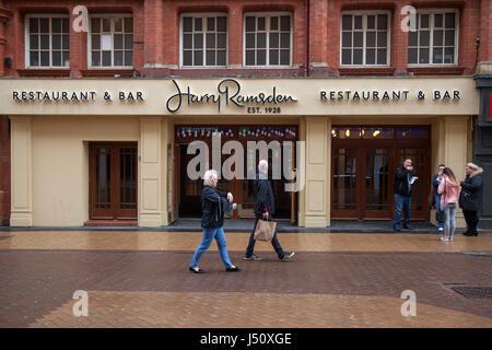 Harry Ramsden, Restaurant & Bar, Blackpool, Lancashire, UK - Stock Photo