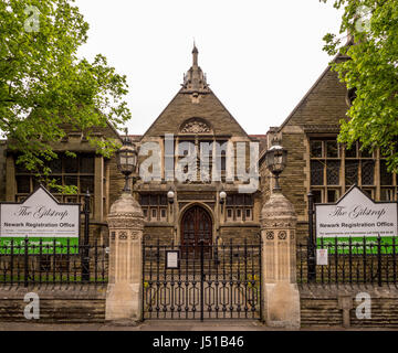 Newark Registry Office, The Gilstrap Centre, Castle Gate, Newark, UK. - Stock Photo