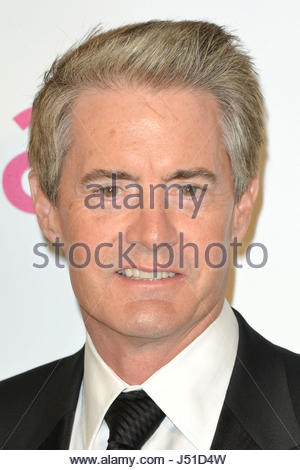 Embargoed to 0001 Tuesday May 16 File photo dated 24/02/2013 of Kyle MacLachlan who has said he found it difficult - Stock Photo