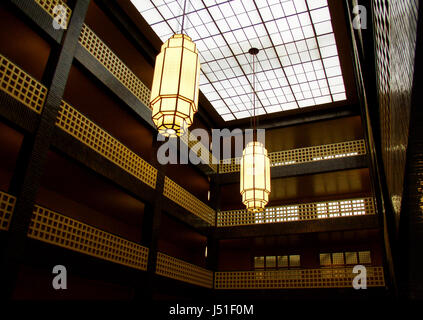 flow berlin ceramic tiles tiles style of construction architecture - Stock Photo