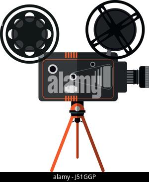 film projector icon image  - Stock Photo