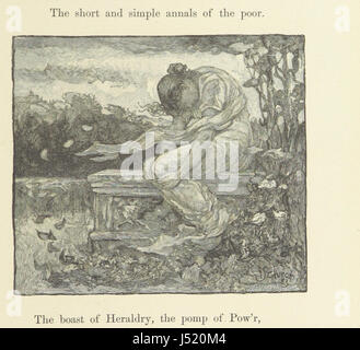 An Elegy written in a country churchyard ... The artists' edition - Stock Photo