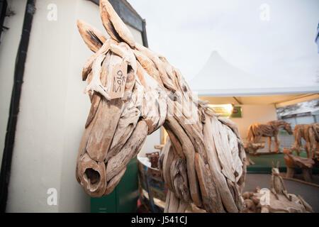 At,Randox Health,Grand National,horse,racing,meeting,Aintree,Liverpool,UK, - Stock Photo