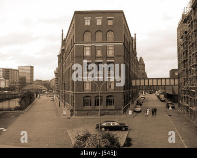 speicherstadt - Stock Photo