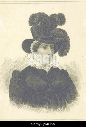 Voyages and Travels of Her Majesty, Caroline Queen of Great Britain: including visits to various parts of Germany, - Stock Photo