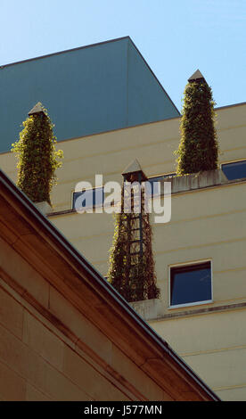 style of construction architecture architectural style baden-baden blauer wrfel - Stock Photo