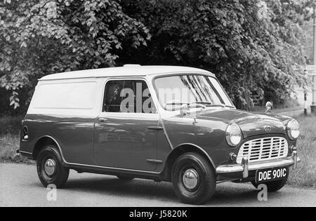 1966 Austin 1.25 ton Mini van - Stock Photo