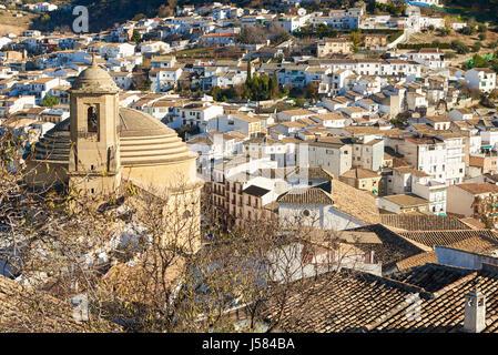 Montefrio, Washington Irving Route, Granada province, Andalusia, Spain, Europe - Stock Photo