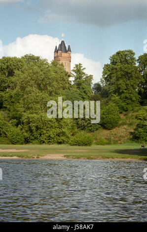 flatow tower in babelsberg - Stock Photo
