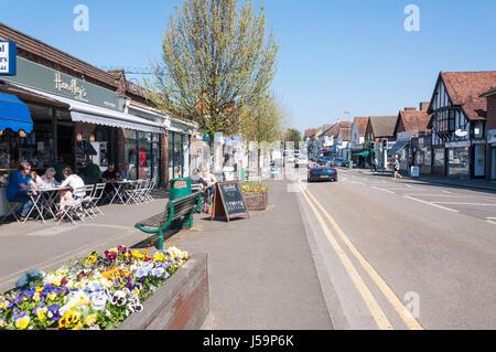The Street, Ashtead, Surrey, England, United Kingdom - Stock Photo