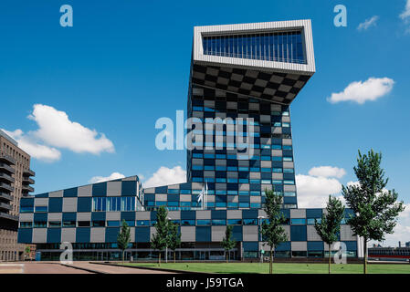 Modern Architecture Netherlands rottedam, the netherlands - august 6, 2016: modern architecture