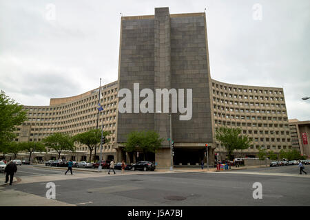 US department of housing and urban development building offices Washington DC USA - Stock Photo