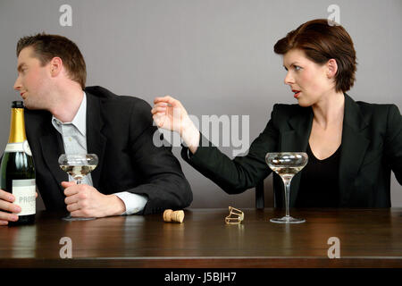 was not meant like that - Stock Photo