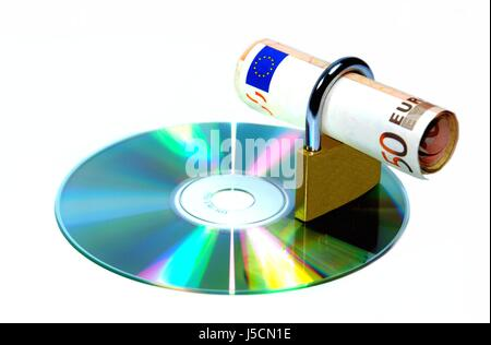 euro data - Stock Photo