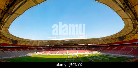 Mercedes Benz arena - the official playground of FC Stuttgart - Stock Photo