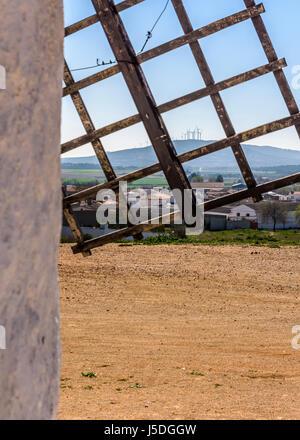 Windmill in Toledo, Spain - Stock Photo