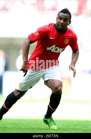 ANDERSON MANCHESTER UNITED LONDON  UK 11 August 2013 - Stock Photo