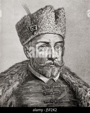 Ivan IV Vasilyevich, 1530 – 1584, aka Ivan the Terrible or Ivan the Fearsome.  Grand Prince of Moscow from 1533 - Stock Photo