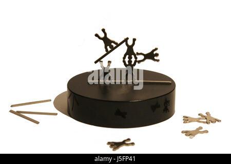 antistress and puzzle progress - Stock Photo