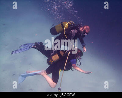 discover scuba diving - Stock Photo