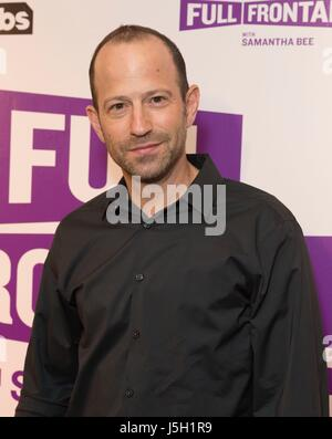 New York, NY, USA. 16th May, 2017. Mike Rubens at arrivals for TBS' FULL FRONTAL WITH SAMANTHA BEE FYC Event, New - Stock Photo