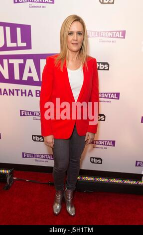 New York, NY, USA. 16th May, 2017. Samantha Bee at arrivals for TBS' FULL FRONTAL WITH SAMANTHA BEE FYC Event, New - Stock Photo