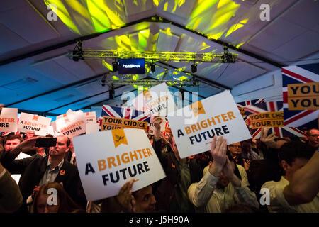 London, UK. 17th May, 2017. Liberal Democrats General Election Manifesto Launch © Guy Corbishley/Alamy Live News - Stock Photo