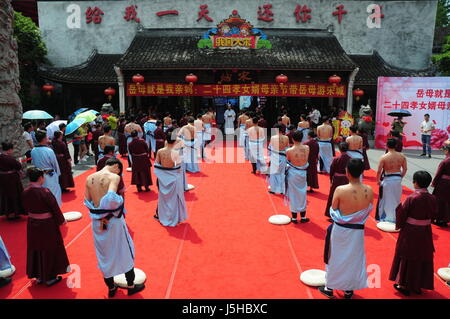May 11, 2017 - Hangzh, Hangzh, China - Hangzhou, CHINA-May 11 2017: (EDITORIAL USE ONLY. CHINA OUT)..Twenty-four - Stock Photo