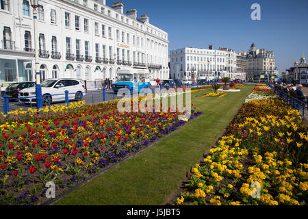 Eastbourne Seafront, East Sussex - Stock Photo